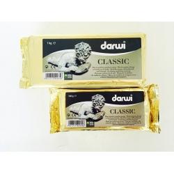 Pasta alba pentru modelaj Darwi Classic  1 kg1