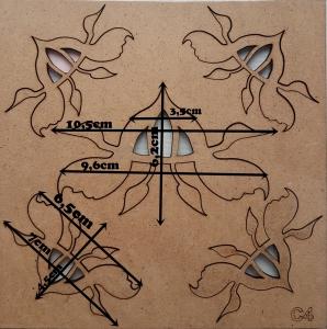 Forme din HDF - Model decorativ 8 [2]