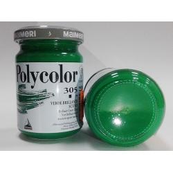 Vopsea acrilica mata - 140 ml - Brilliant green deep