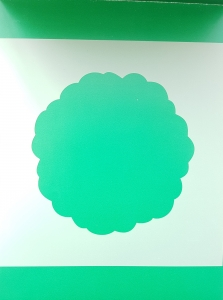 Sablon plastic flexibil - Model Mandala 10 x 10 cm2