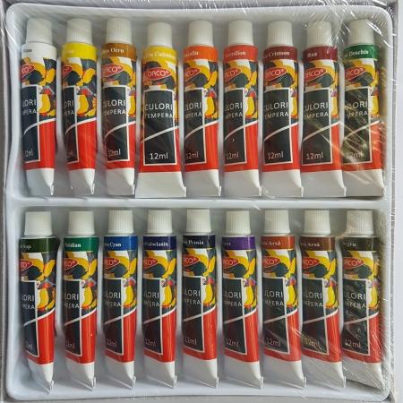 Set 18 culori tempera Daco2