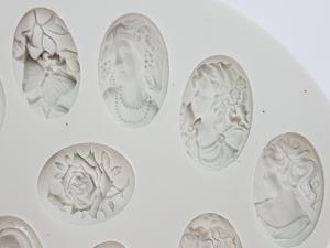 Mulaj din silicon - Medalioane antice