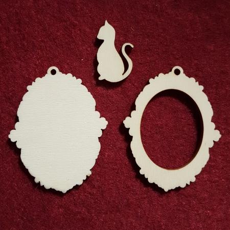 Baze bijuterii din lemn 202