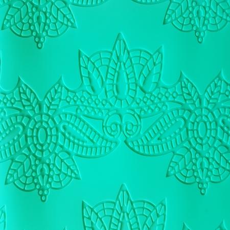 Covoras din silicon - Borduri flori0