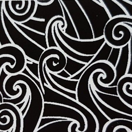 Foaie texturata - Valuri0