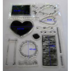 Stampila silicon - Poveste de dragoste1