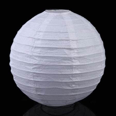 Abajur alb din hârtie de orez  - Diverse mărimi0
