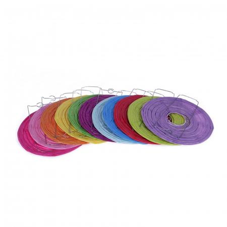 Abajur din hârtie de orez 25 cm - Diverse culori1