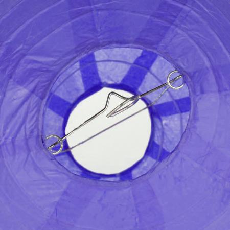 Abajur din hârtie de orez 30 cm - Diverse culori2