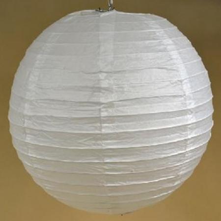 Abajur alb din hârtie de orez  - Diverse mărimi2