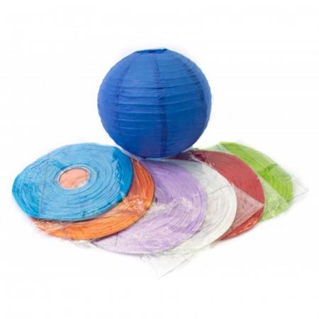 Abajur din hârtie de orez 25 cm - Diverse culori5
