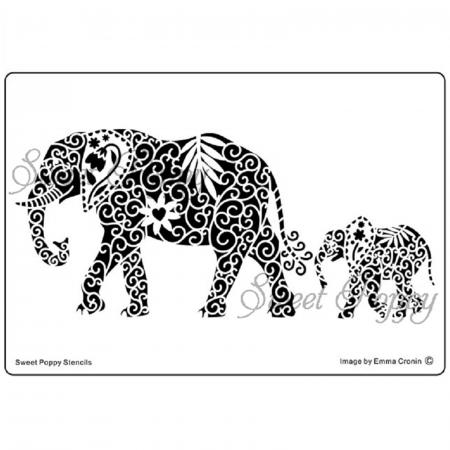 Șablon metalic - Elefanți SP1-2320
