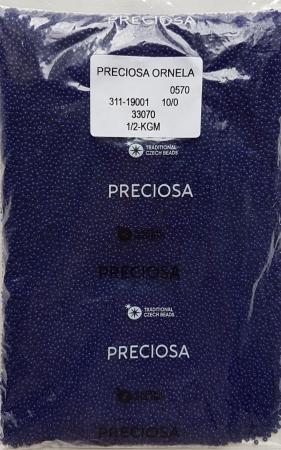 Margele nisip Preciosa Ornela 10/0 - Albastru 330701