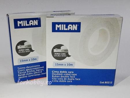 Bandă adezivă dublă Milan - 15 mm x 10 m1