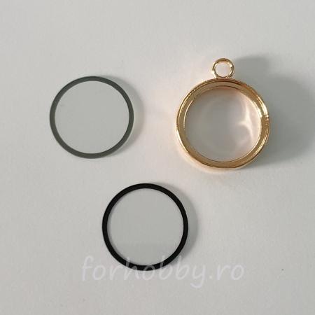 Bază medalion plutitor 28 mm0