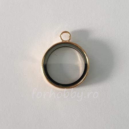 Bază medalion plutitor 28 mm1