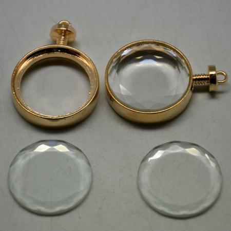 Bază medalion plutitor 33 mm1