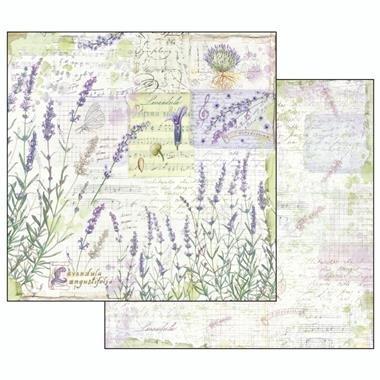 Bloc hârtie scrapbooking 10 coli - Herbarium4