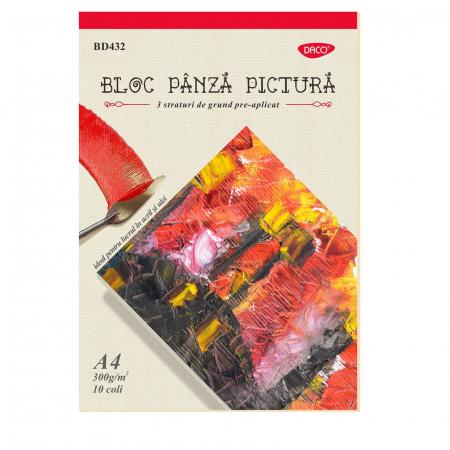 Bloc pânză pictură 300 g/m2 Daco1