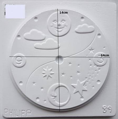 Matrita pentru turnat - Cadran ceas1