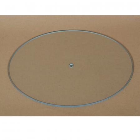 Cadran ceas DIY din sticlă - Oval 27 x 22 cm1