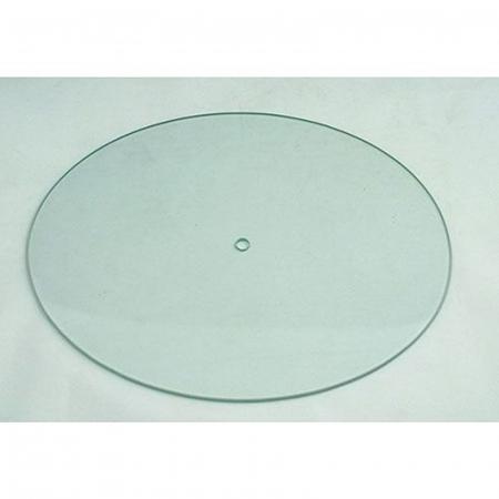 Cadran ceas DIY din sticlă - Oval 27 x 22 cm0