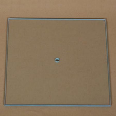 Cadran ceas DIY din sticlă - Pătrat 21 x 21 cm1