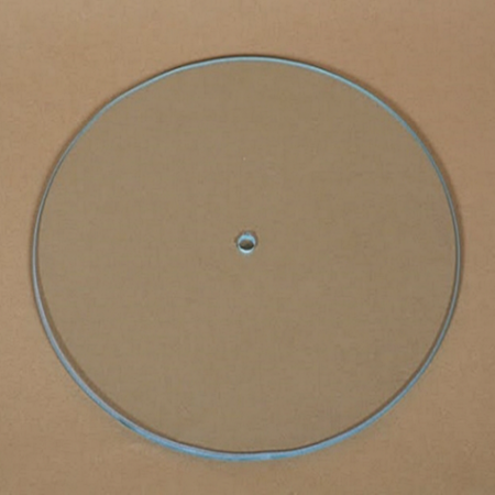Cadran ceas DIY din sticlă - Rotund 21 cm1