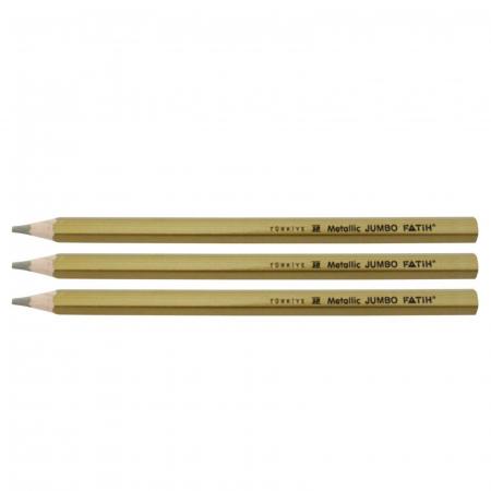 Creion color metalizat Fatih - Auriu0