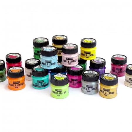 Culori de bază pentru textile, piele și PVC 50 ml0
