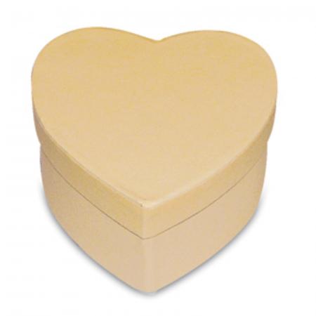 Cutie în formă de inimă, carton - 8 x 7.5 x 5 cm1