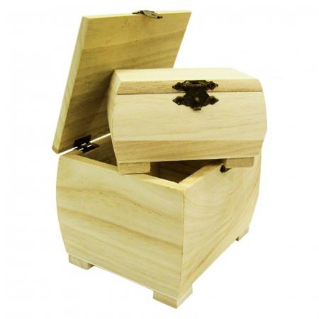 Cutii lemn cu picioare laturi arcuite - Diverse mărimi2