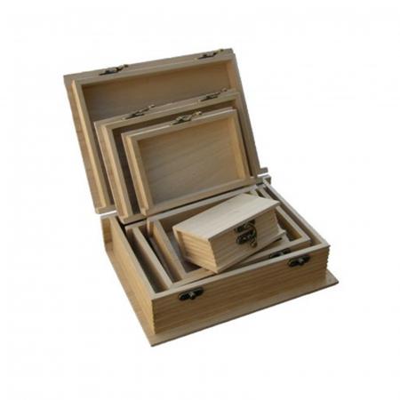 Cutii lemn tip carte - Diverse mărimi4