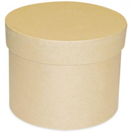 Cutie rotundă, carton -  10 x 8 cm1