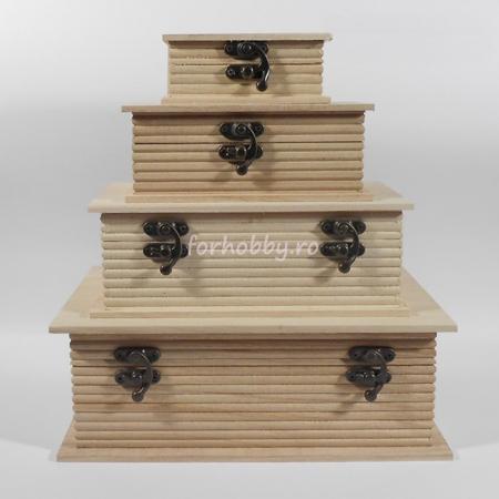 Cutii lemn tip carte - Diverse mărimi0