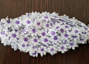 Dantela floricele cu miez mov 9.5m0