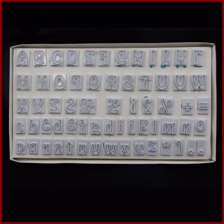 Decupatoare - Alfabet (litere mari si mici)0