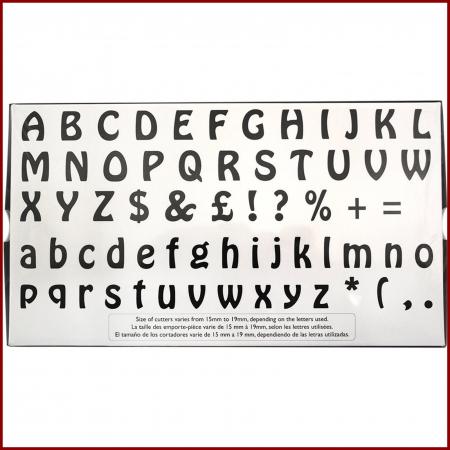 Decupatoare - Alfabet (litere mari si mici)3