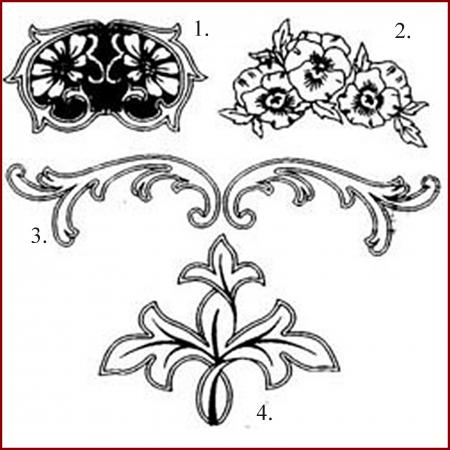 Decupator - Ornamente panselute1