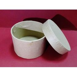 Cutie rotundă, carton -  8 x 5 cm0