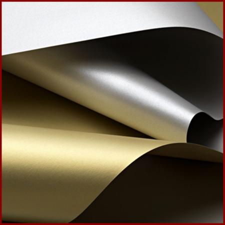 Hartie metalizata A4 120 g - Aur/Argint0