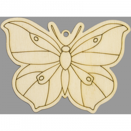 Figurina din lemn - Fluture1