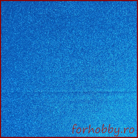 Foaie cauciucata aa cu sclipici A4 - Albastru inchis0