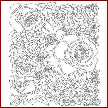 Foaie texturata Stamperia - Trandafir1