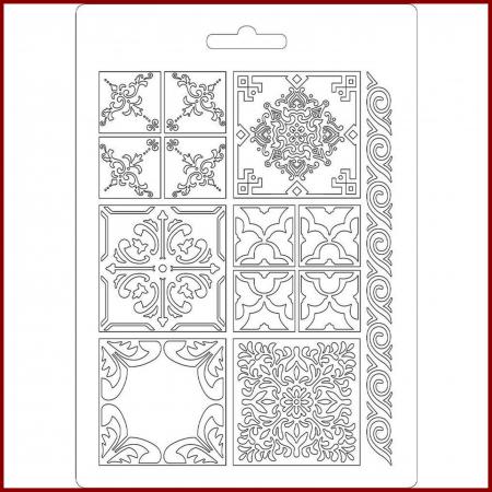 Foaie texturata Stamperia - Placi ceramica1