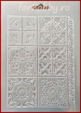 Foaie texturata Stamperia - Placi ceramica0