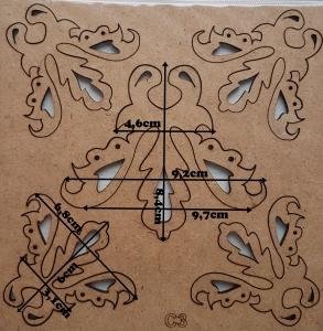 Forme din HDF - Model decorativ 12