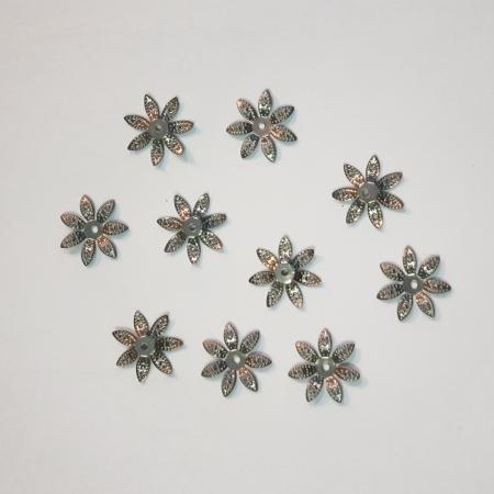 Forme metalice embosate - Set 10 flori
