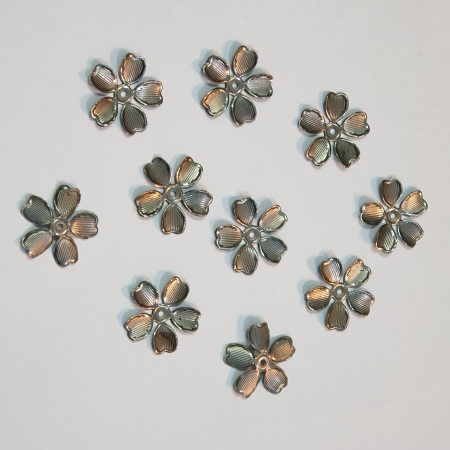 Forme metalice embosate - Set 10 flori0