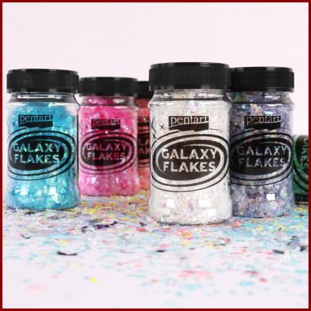 Galaxy Flakes - Fulgi decorative Pentart 15 gr3